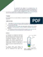 Destilación de industrial