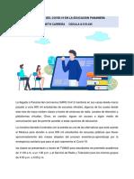 La Educacion en Panama Frente Al Covid 19