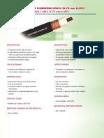 FEEDER 1 1_4 CONDUMEX Cablecoaxialpararadiofrecuencia3175mm
