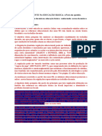 O TRABALHO DOCENTE NA EDUCAÇÃO BÁSICA fichamento comentários e texto Pará dalila