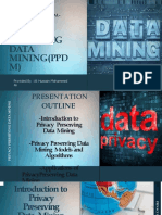 Privacy Preserving Data Mining
