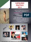 Catálogo  POLÍTICO PERU 2011