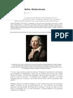 Friedrich Hölderlin Divina locura