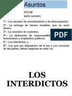 4.1. INTERDICTOS