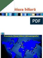 Litiaza biliara, colecistita