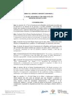 ACUERDO MINISTERIAL - MINEDUC-MINEDUC-2020-00020-A