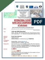 International Slovak Rapid Chess Championship 2020 ENG