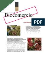 biocomercio , biodegradable y biopirateria