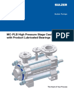 MC PLB High Pressure Stage Casing Pump brochure