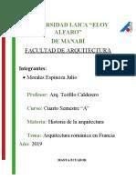Arquitectura románica en Francia.docx