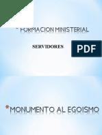 formación ministerial servidores