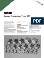 Sicop Power Contactor3tf