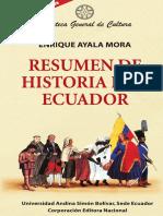 Resumen de Historia del Ecuador - Enrique Ayala Mora.pdf