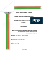 Partes Caracteristicas Herramientas CMV Leadwell V30