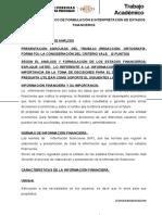 TRABAJO ACADÉMICO DE FORMULACIÓN E INTERPRETACIÓN DE ESTADOS FINANCIEROS