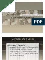 Comunicare Publica Curs 1