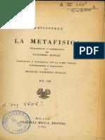 Michele Federico Sciacca - Metafisica, Vol. III [1942]