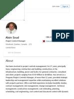 Alain Soud - Project Control Manager - CBG (Client) _ LinkedIn.pdf