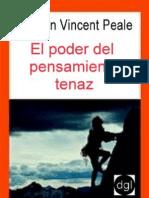 Peale, Norman Vincent - El Poder Del to Tenaz