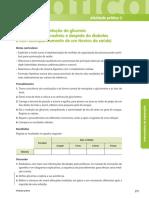 Medição e interpretação da glicemia (num contexto de rastreio e despiste da diabetes  e com acompanhamento de um técnico de saúde)