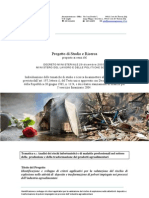 Identificazione e sviluppo di criteri applicativi per la valutazione del rischio di esplosione nelle attività di deposito e trasformazione di polveri impiegate nei processi dell'industria agroalimentare