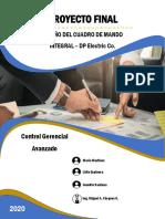 DISEÑO DE CUADRO DE MANDO INTEGRAL