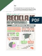 Cómo reciclar guia