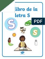 Mi libro de actividades - La letra S