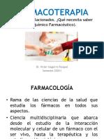 Farmacoterapia - Conceptos basicos
