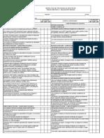 Formato Inspección Programa Mecánico Maquinaria Pesada