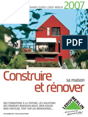Guide Renovation 2007