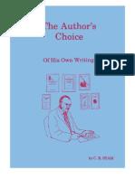 The Authors Choice