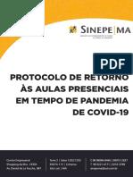 PROTOCOLO DE RETORNO AS AULAS - SINPEMA