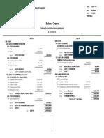 Modelo de un Balance General de una Municipalidad Guatemalteca