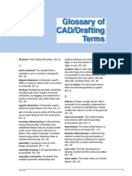 caddrafting terms