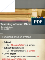 The Teaching of Nouns and Noun Phrases Reproted by GENESIS A. LABOR.pdf
