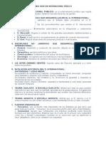 Derecho Internacional Público Final - Octavo Semestre