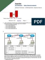 Ccna Exploration 4.01 - Examenes Final