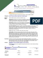 High Conductivity Copper, Hard, UNS C10200 (MatWeb)