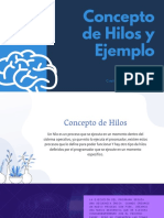 Concepto Hilos y Ejemplo