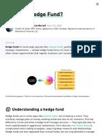 What is a Hedge Fund_ - 2020 - Robinhood