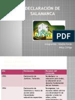 Declaración de Salamanca (3)