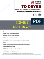 Rafael-TDS-625 Sand dryer doc