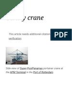 Gantry crane - Wikipedia