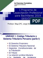 1 UNMSM Titulacion Codigo Tributario y STP