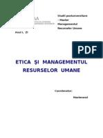 ETICA SI MRU