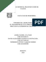 Laboratorio 3- BJT Varias configuraciones.