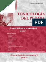 TOXICOLOGIA DEL PLOMO