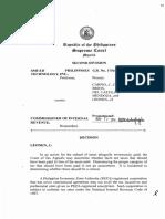 SMI-ED vs CIR (PEZA Registered)