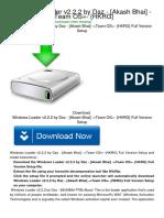 Download Windows Loader v2.2.2 by Daz - -Akash Bhai- -=Team OS=- {HKRG}